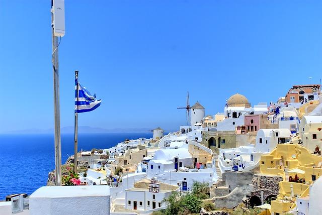 Kleinstadt in Griechenland