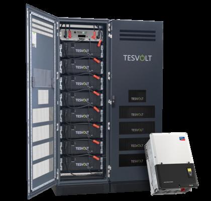 TS-HV 70 mit Batteriemodulen