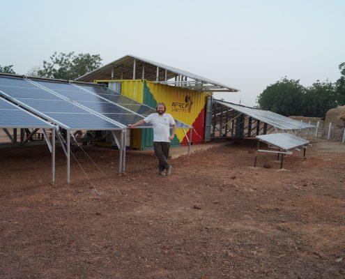 Strom für 250.000 Menschen in Mali