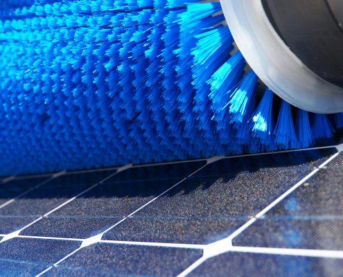 Solarmodul Reinigung
